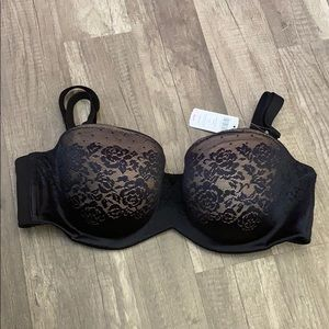 ✅Soma Stunning Support Strapless Bra-Black✅